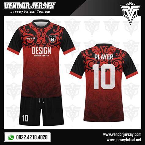 desain kaos hitam keren desain kaos futsal batik merah hitam vendor jersey futsal