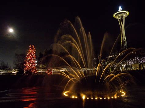 the seattle center holiday lights traveling orion
