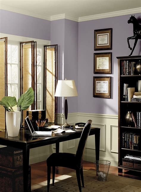 interior paint ideas and inspiration ceiling trim carbon copy and wisteria