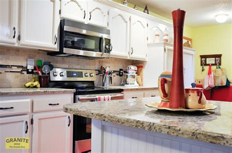 Countertops Kansas City by Giallo Ornamental Light Granite Countertops Pair Well With