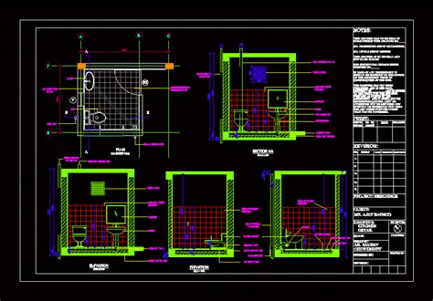 toilet section dwg toilet details dwg plan for autocad designs cad