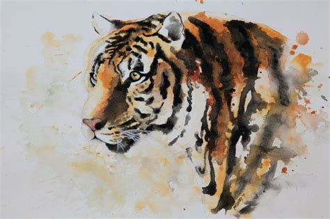 watercolour tiger google search tiger tattoos