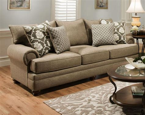 Albany Upholstery by Albany Sofa Albany 488 Sofa With Nail Trim Miskelly Furniture Sofas Thesofa