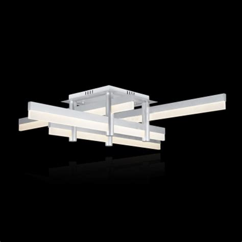 medium led bar modern cool lighted flush mount ceiling