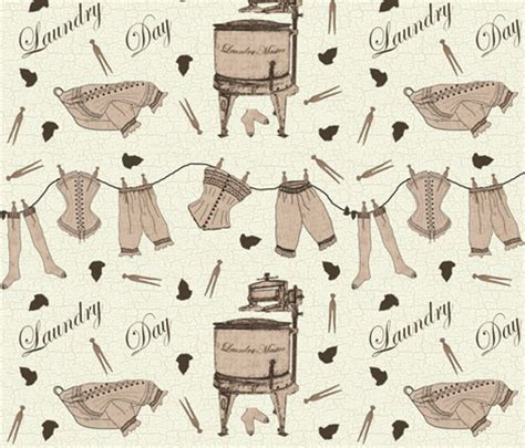 laundry design fabric vintage laundry day fabric jabiroo spoonflower