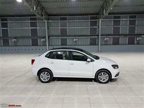 volkswagen ameo white volkswagen ameo 1 5l diesel launched at rs 6 33 lakh
