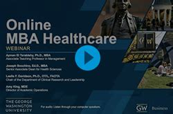 Why Healthcare Mba by Healthcare Mba Degree Program Healthcare Mba Gwu