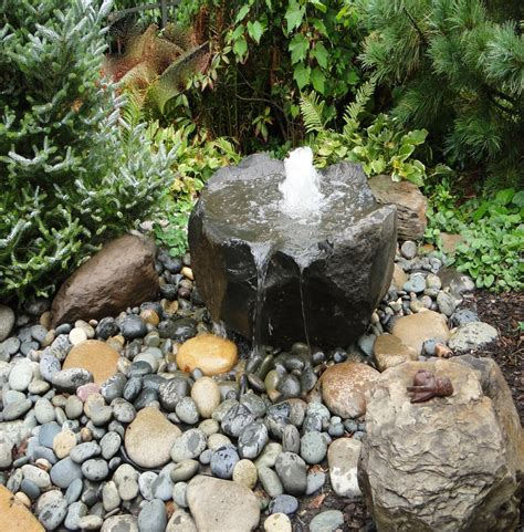 Rocks Gardens Water Fountain Water Features Gallery Rock Fountains For Garden