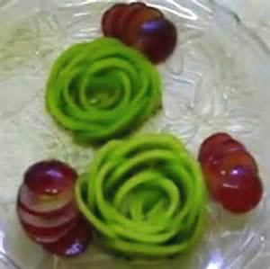 Cake Decoration Rose Diy How To Make A Kiwi Rose Youtube