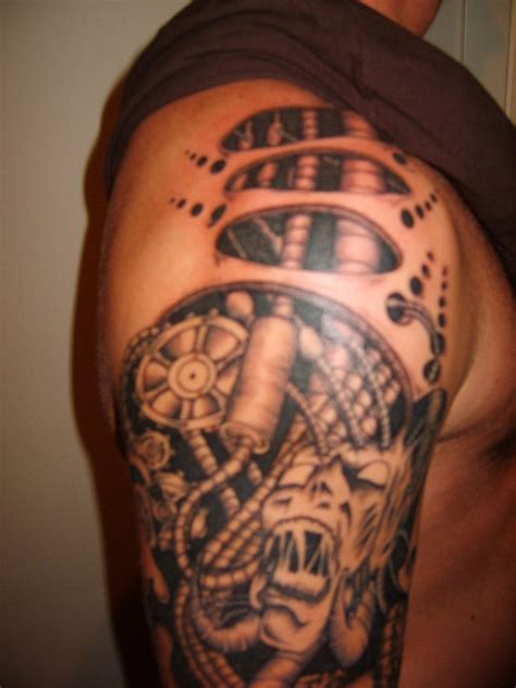 biomechanical tattoo designs josina s iron chest my