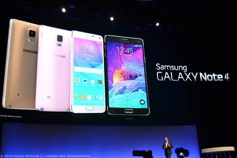 Tv Samsung Di Malaysia samsung menjadualkan pelancaran galaxy note 4 di malaysia pada 15 oktober amanz