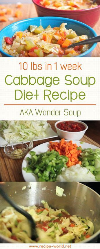 Cabbage Soup Detox Results by 10 Lbs In 1 Week Cabbage Soup Diet Recipe Aka Soup