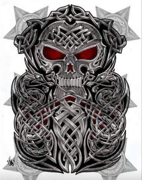 celtic skull tattoo designs pin by mike on everything skull norse