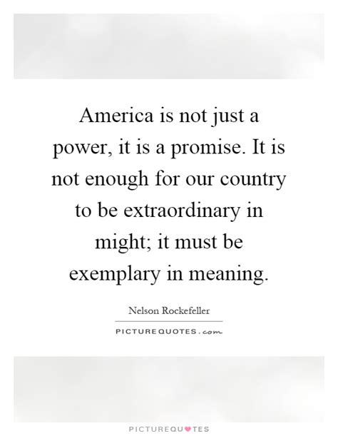 not enough of not enough of ordinary extraordinary books america is not just a power it is a promise it is not