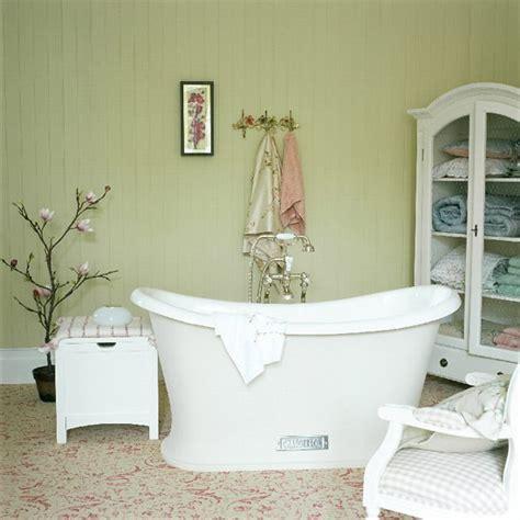 Badezimmer Orientalisch by Bathroom In Pastel Shades With Freestanding Bath
