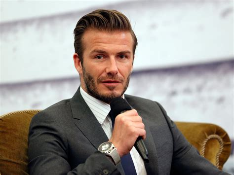 Beckham To With The by David Beckham S Fabulous Business Insider