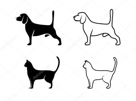 imagenes a blanco y negro de perros gato y perro blanco y negro archivo im 225 genes vectoriales