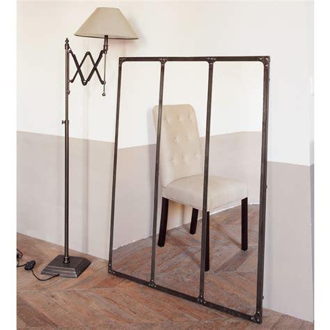 Miroir En Metal by Miroir En M 233 Tal Effet Rouille H 120 Cm Cargo Maisons Du