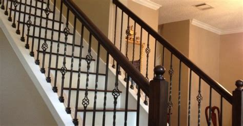 wrought iron and wood banisters ornamental iron baluster quotes