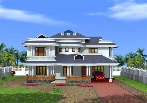 Bungalow Design Bungalow Design In Kerala Style At 3350 Sq Ft
