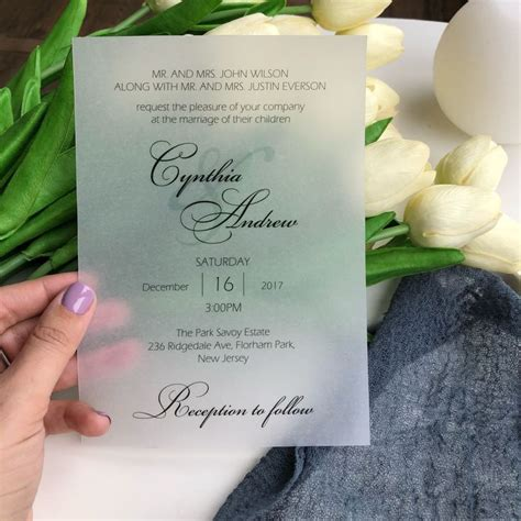 Printed Wedding Invitations Velum by 112 Best Wedding Stationery Images On Bohemian