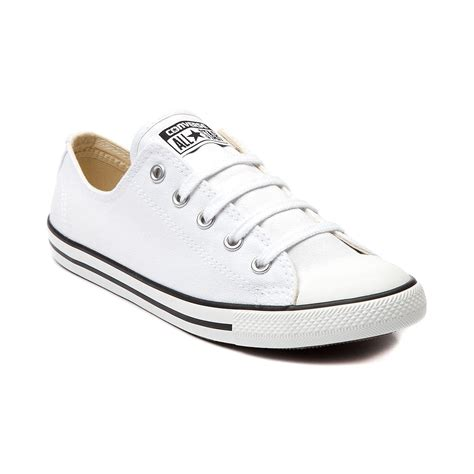 Coverse Womens dyiphifb authentic s dainty converse white