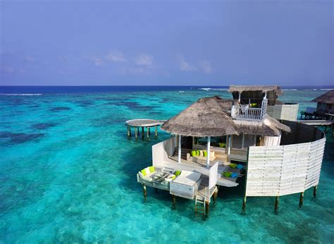 six senses laamu maldives 6 amazing floating villas and overwater bungalow hotels