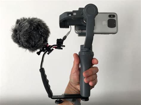 budget smartphone video rig mount dji osmo mobile