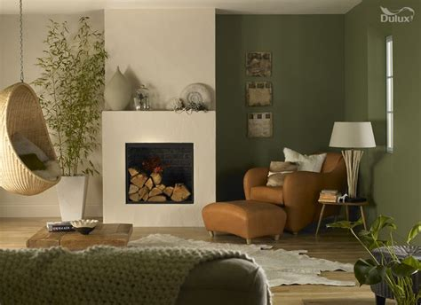 moss green bedroom a sun facing lounge can be given a duluxfreshstart with