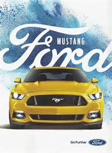 Ford Ads 2015 Ford Mustang Print Ad