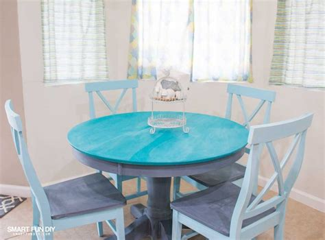 Chalk Paint Kitchen Table by Chalk Paint Table Makeover