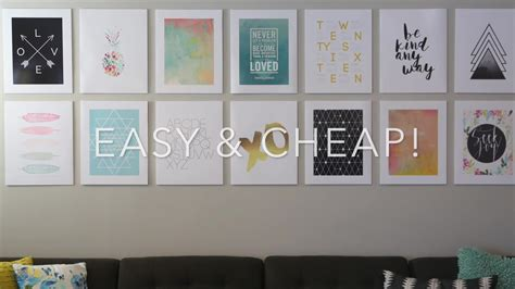 hang frames no nails 100 hanging prints without frames 7 great ways to