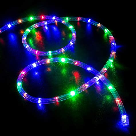rope led christmas lights