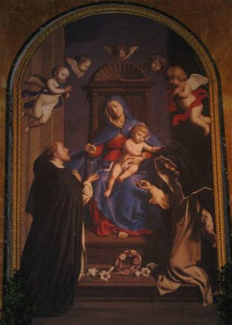 romano e santa caterina basilica di santa sabina a roma