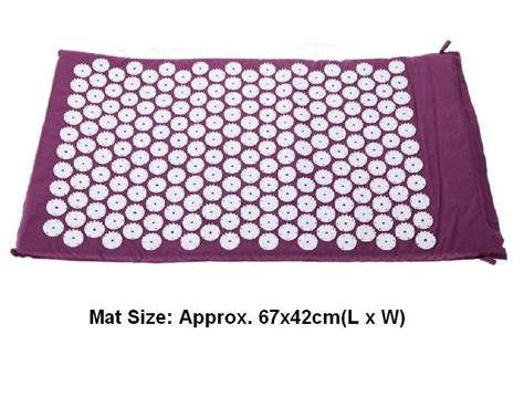 Acupressure Mat Buy by Aliexpress Buy Size Appro 67 42cm Acupuncture
