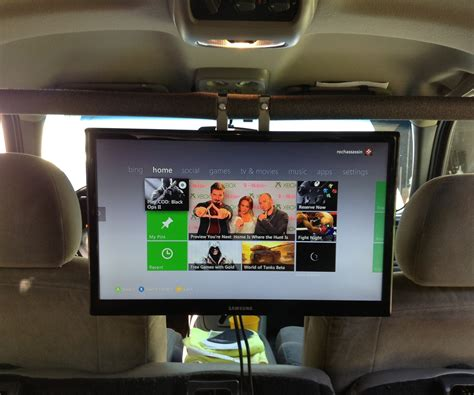 Fernseher Auto by Put A 19in Tv And Game Console In Your Car