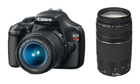 Lensa Canon Dslr 1100d deal canon t3 w 18 55mm 75 300 lenses for 349 canon deal
