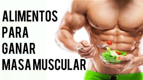 como ganar  muscular  eres delgado  alimentos youtube