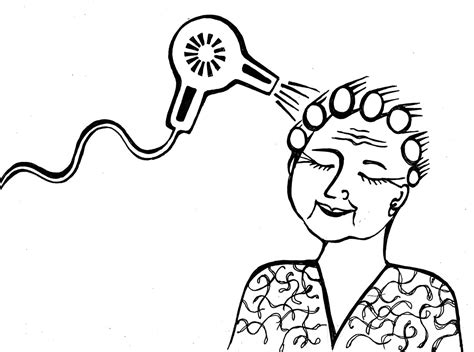 Hair Dryer Zeta pin coloring page hairstyling gel and spray img 8210 on