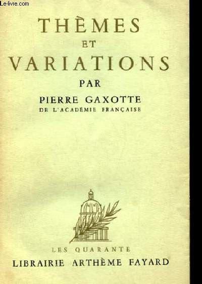 themes et variations london apogee et chute de la royaute en 6 tomes pierre gaxotte