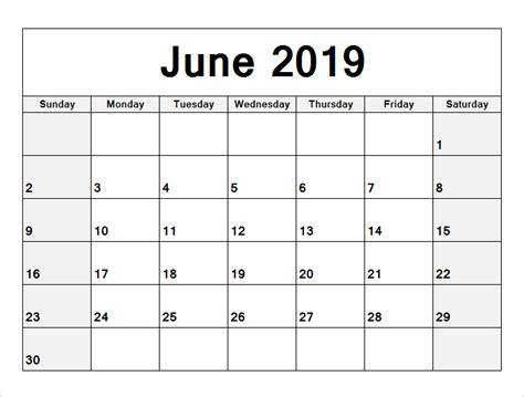 june printable calendar holidays