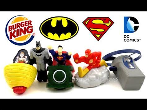 Dc Comics Go 20 April 2017 2016 burger king batman v superman dc comics