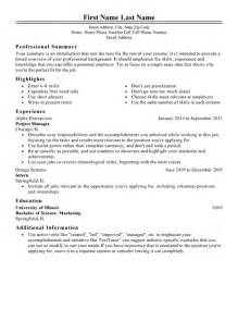 15 different resume sles to get you hired