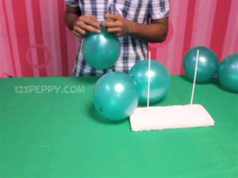 how to make a balloon christmas tree how to make a balloon tree