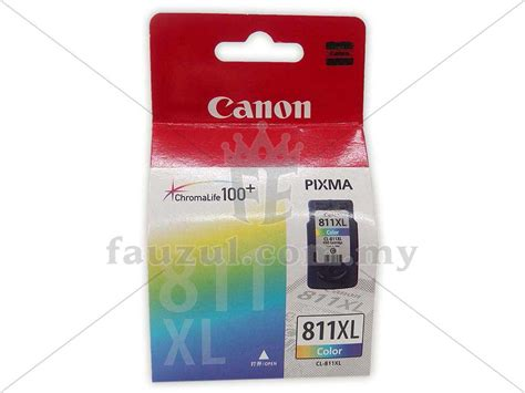 Tinta Cl 811xl canon cartridge pg 810 black dan cl 811 color daftar