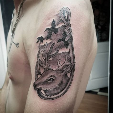 hook tattoos 75 cool fish hook ideas hooking yourself with ink