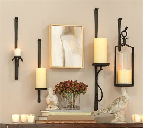 Wall Sconces Pottery Barn Pottery Barn Candleholders For The Home Pinterest