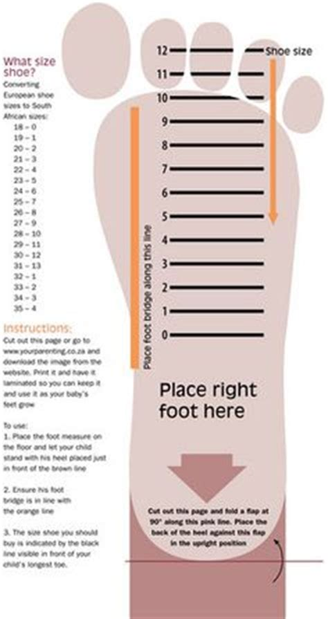 shoe size template printable uk 1000 images about charts and info on charts