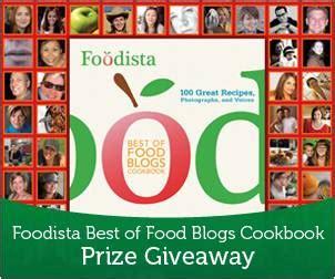 lick my spoon foodista best of food blogs cookbook giveaway - Best Giveaway Blogs