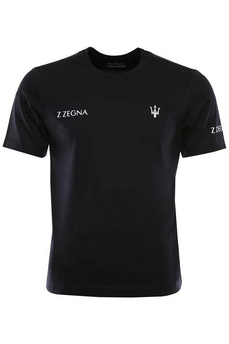 Maserati T Shirt z zegna maserati t shirt scuro unito s